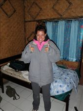Kaitie suited up and ready to climb a volcano at 4 in the morning!: by kaitieandcaroline, Views[132]