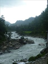 The river next to the tea house we stayed in on our first night of the trek.: by kaitlinpeters, Views[153]