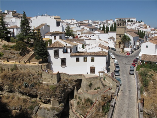 The white hills of Ronda