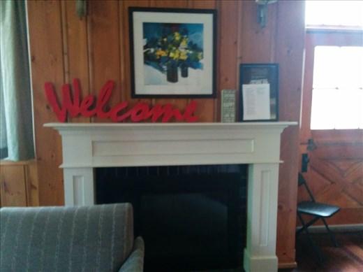 Fireplace (fancy!)