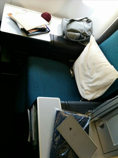 My business seat
