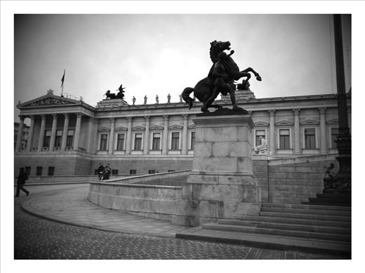 Statue in Vienna