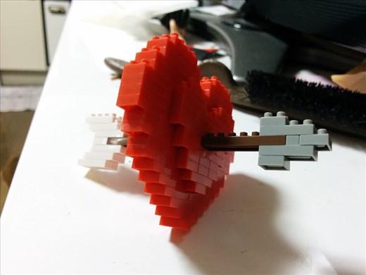 Assembled heart