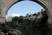 All through the summer men  like Nebojša spend their time as close to the river as possible, often jumping off the infamous Mostar bridge, once a coming of age rite for young men, now a tourist attraction: by kalaniman1, Views[80]