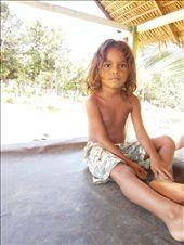 Agua de coco post, somwhere in the jungle