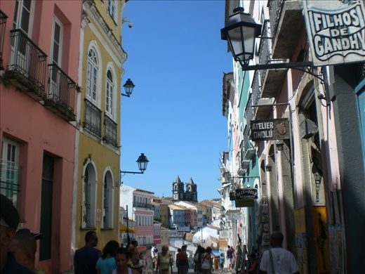 The lovely streets of Salvador