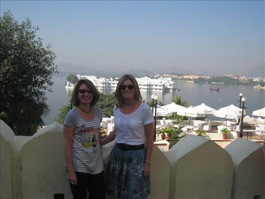 At the city palace - Udaipur