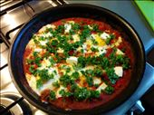 Added the eggs and feta! Almost done ...: by karin_in_canberra, Views[94]