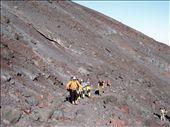 Aufstieg zum 2847m hohen Villarrica Vulkan - erst Lavageroell: by karin_lang, Views[336]