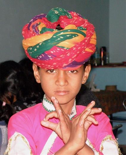 The Little Dancer of Jaipur, India