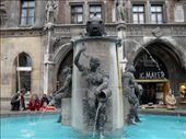 I must have looked really thirsty in front of this fountain since a german man came up to me and suddenly said