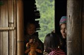 """During one of ours trips near Sapa, we had a break in a small wooden house.. All tourists were very noisy, but the """"landlady"""" sat quietly with dignity, patiently waiting for our leaving.: by kasiapawluczuk, Views[296]"""