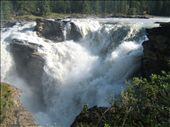 athabasca falls: for once something that merits the word awesome: by katang, Views[355]