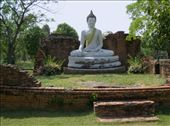 This statue of the Buddah had a wonderfully serene look on the face. : by kathryn, Views[177]