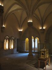 The chapter house at the Monastry de St Remi, Reims: by kathryn_hendy_ekers, Views[170]