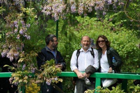 Cecile & Ian at Giverny.