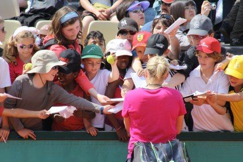 Tennis fans, Roland Garros