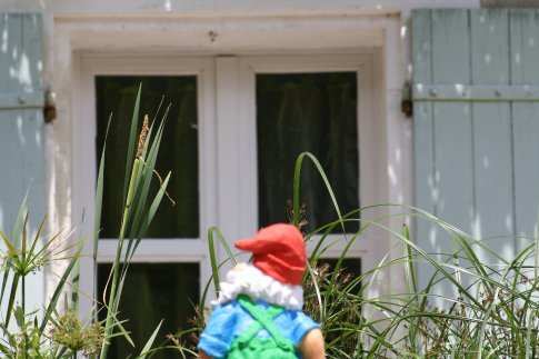 A gnome's view of over his loch.