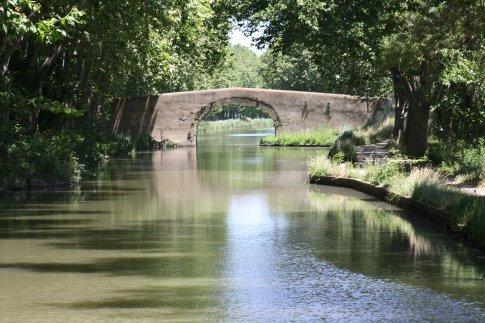 Bridge over the Canal Du Midi.