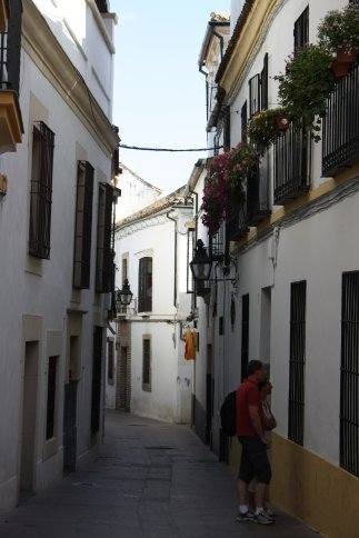 The old city Cordoba.