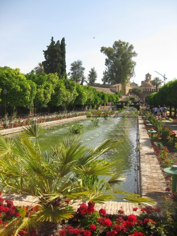 Pools of the Gardens of the Alkazbar Palace, Cordoba.