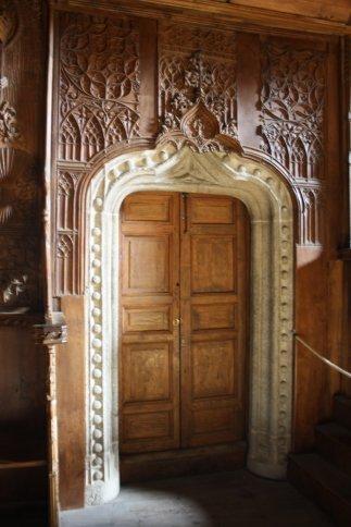 Choir entrance in the Iglesia de Sante Tomas