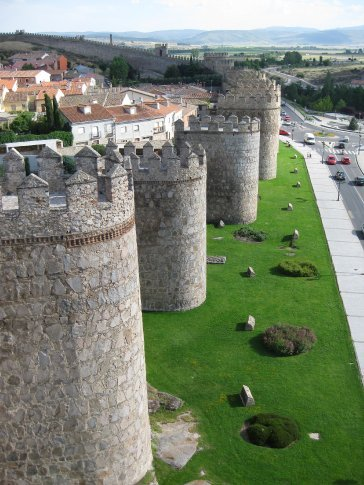 One of the small amount of photos Paul took due his excitement of visiting Avila.