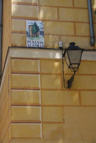 Street sign, Madrid