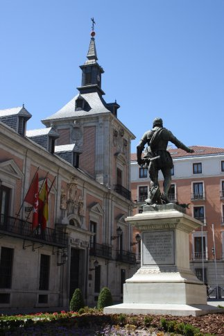 Plaza de la Villa, Madrid.