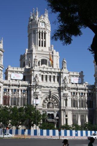 Banco Espanga, Paseo del Prado, Madrid.
