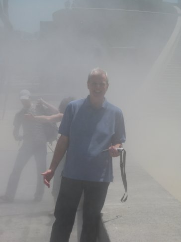 Paul emerging from 'a fog'. He thinks.