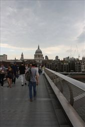 View of St Pauls from the Millenium bridge.: by kathryn_hendy_ekers, Views[108]