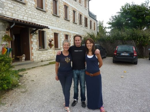 Family of winemakers at Col del Lupo