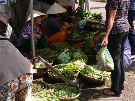 Ladies at the market