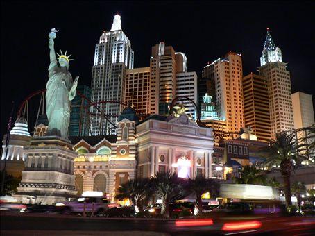 New York, Las Vegas style