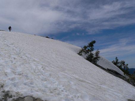 Hiking Sentinel Dome in Yosemite