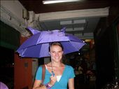 My room mate-buying umbrellas for the rain!!: by katie_rose, Views[213]