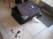My post-flight luggage.: by katieback, Views[230]