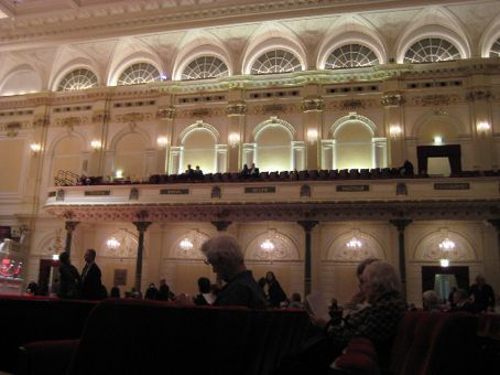 Pictures I apparently wasn't actually supposed to take inside the Concertgebouw.