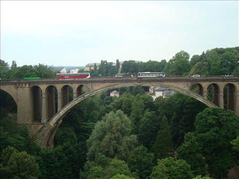 Luxembourg, a nice respite from the busy cities of Europe.