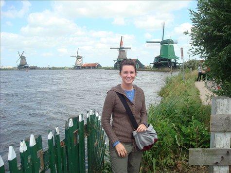 Lots of windmills near Amsterdam