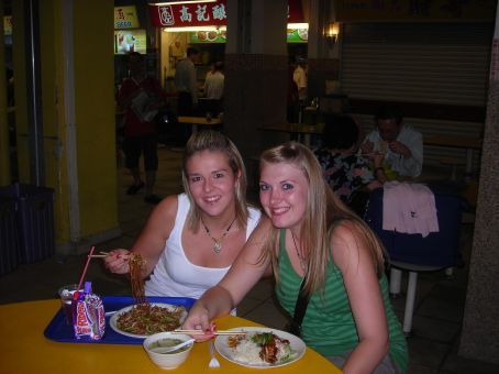 Eating at China town!!