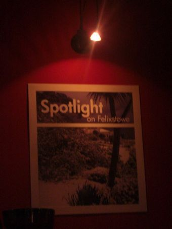 Spotlight on felixstowe..in our local!!