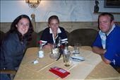 lunch in ski resort town, Austria. Robyn, Leanne and Pat: by keera, Views[210]