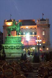 the Horse, Republic Square Belgrade: by keera, Views[352]