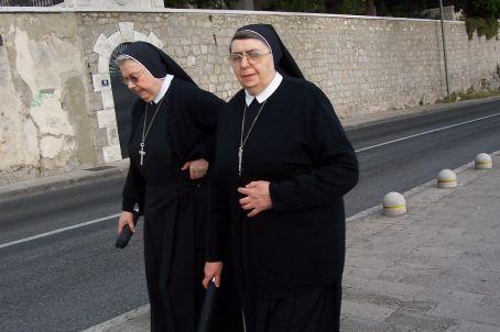 nuns in Dubrovnik