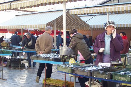 fish market, split