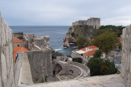 view from the city walls, Dubrovnik