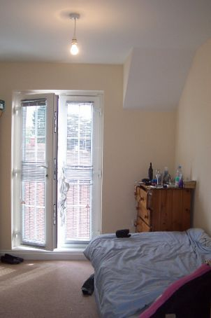 my bedroom in the flat, Hungerford