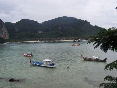 the port-side bay, Phi Phi